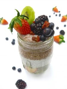 vegan chia seed pudding by angie p.