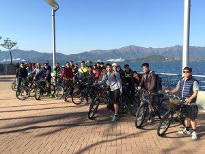 V Girls Club cycling event